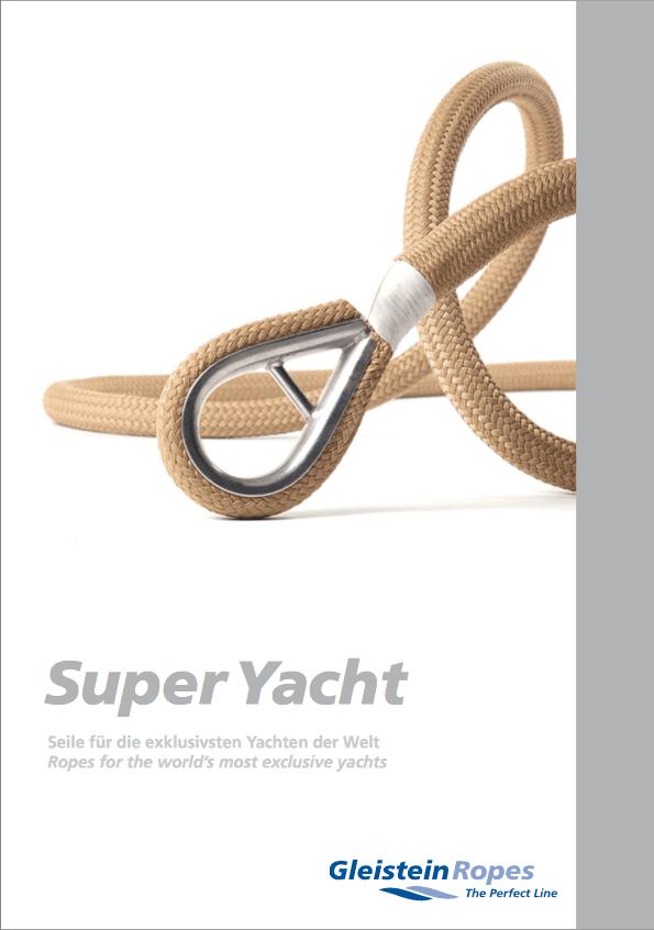 Gleistein SuperYacht catalogus afb