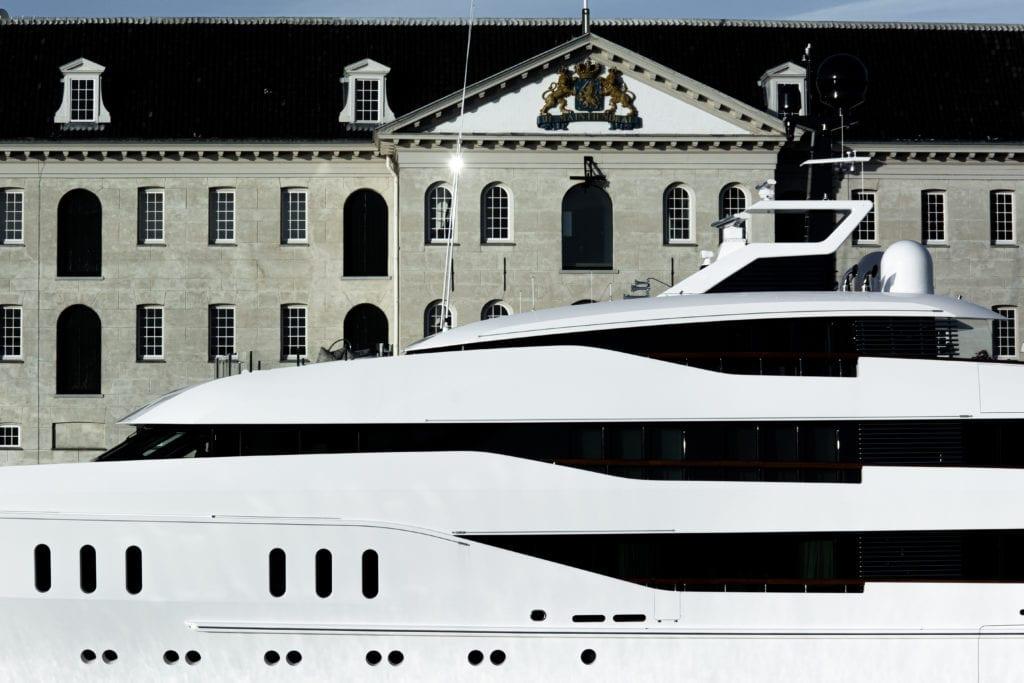 Mooring Yachts, Tom van Oossanen, Port of Amsterdam, Amsterdam superyacht, motor yacht